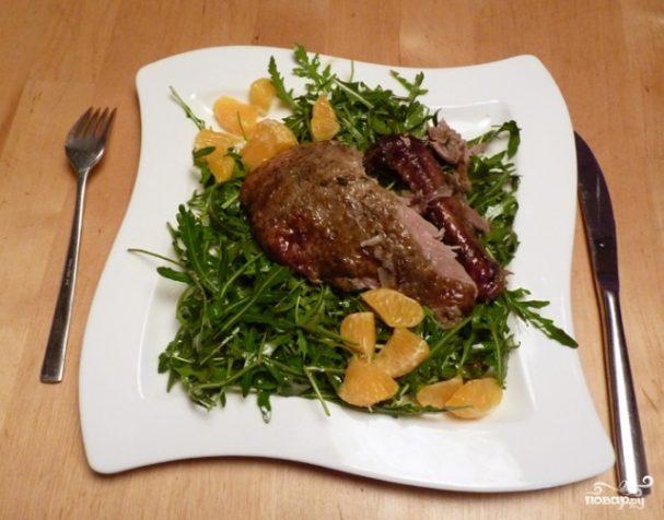 Салат к запеченной утке
