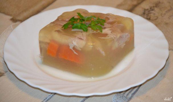Свиной холодец с желатином рецепт с фото, пошаговое приготовление