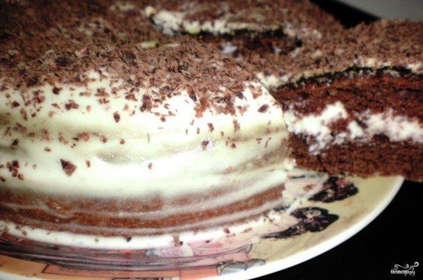 Торт сметанник пошаговый рецепт