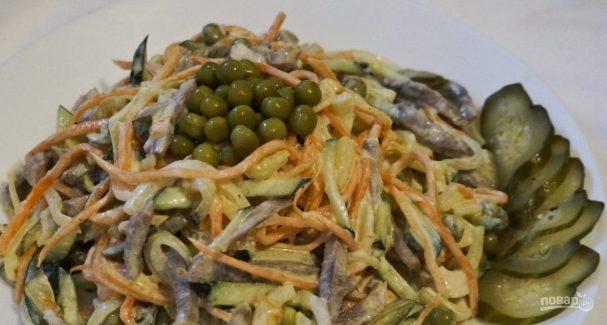 Рецепт салата из моркови по-корейски