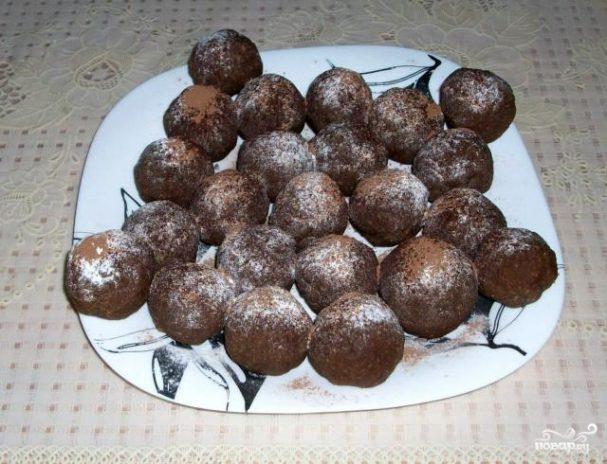 """Пирожное """"Картошка"""" из ванильных сухарей"""