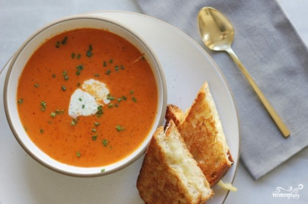 Турецкий томатный суп