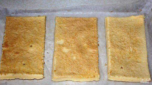 Бисквитное тесто для коржей
