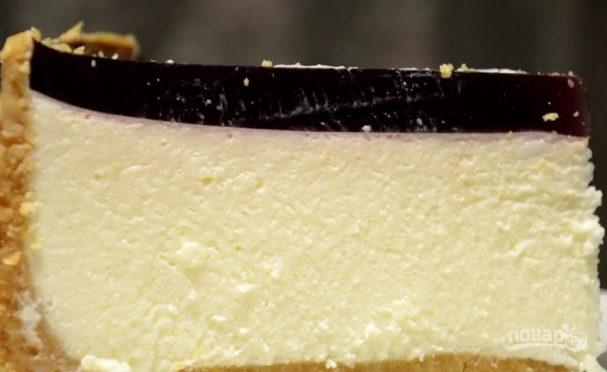 Творожный чизкейк с маршмеллоу