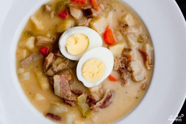 рецепт супу журик з фото