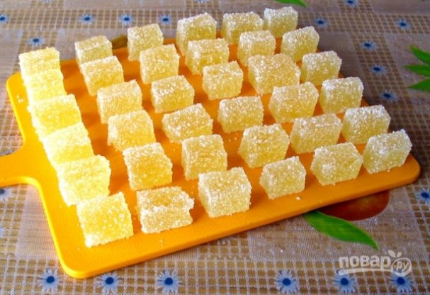 Мармелад с желатином