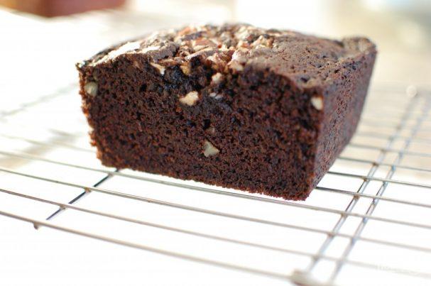 Шоколадный пирог с тыквой и орехами