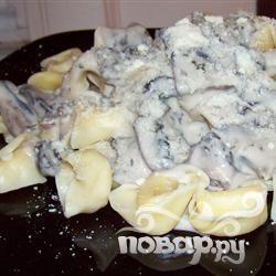 Сказочные пельмени с грибами Портобелло