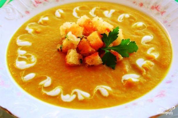 Вегетарианский суп из овощей
