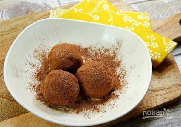 Шоколадно-авокадовые трюфели