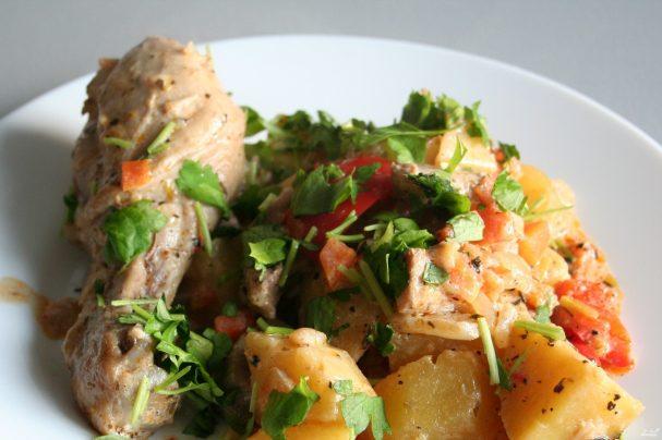 рецепт жаркое по домашнему из курицы рецепт