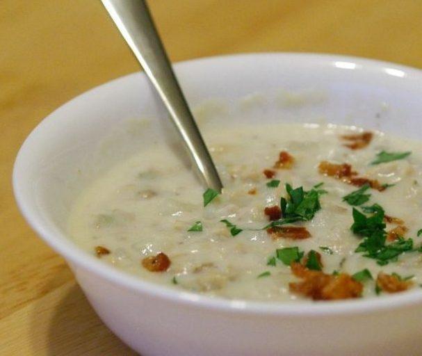 Суп из моллюсков в стиле Новая Англия