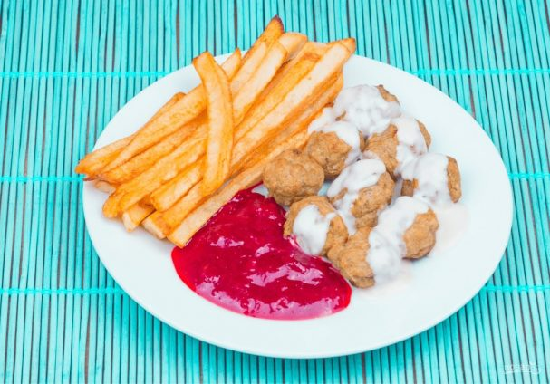 рецепт фрикаделек из курицы как в икеа