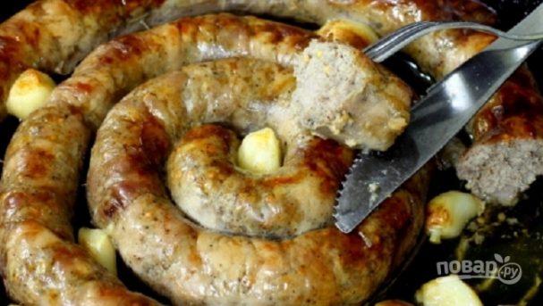 Украинская домашняя колбаса (простой рецепт)