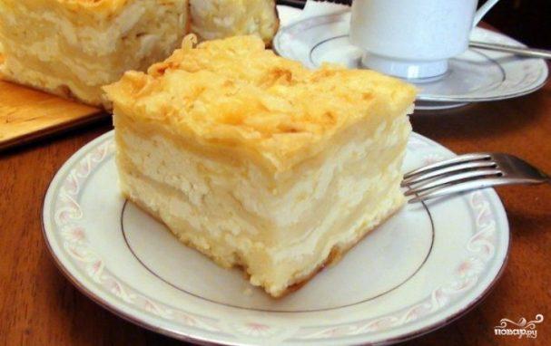 Ачма с сыром и творогом