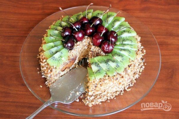 Торт из пряников со сметаной