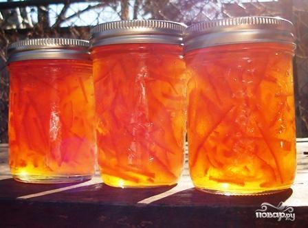 Апельсиновое варенье с виски