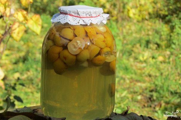 Компот из лимонника