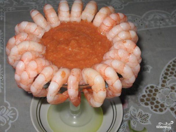Вкусный соус к креветкам