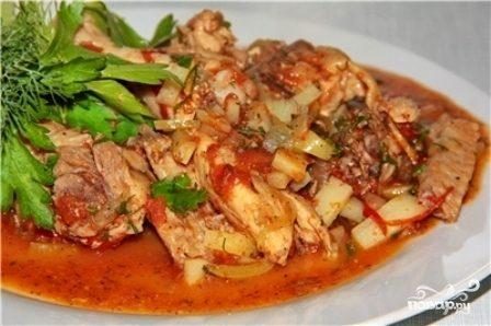 Как приготовить чахохбили из курицы с картошкой