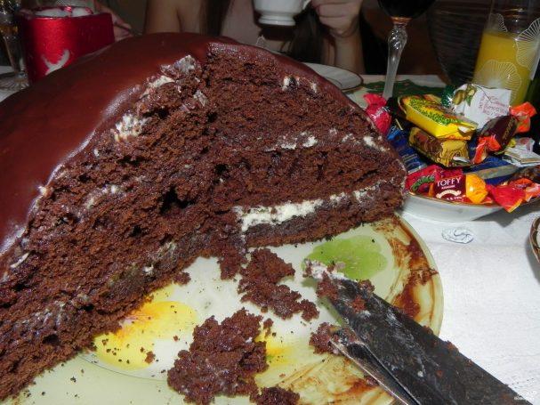 Торт кефирный