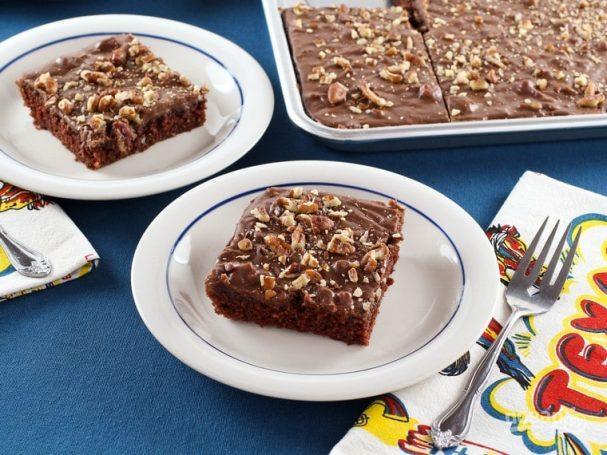 Американский шоколадный кекс