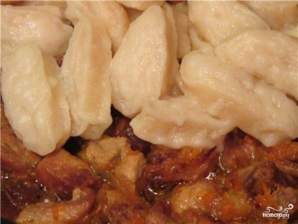 Галушки с зеленью - пошаговый рецепт с фото