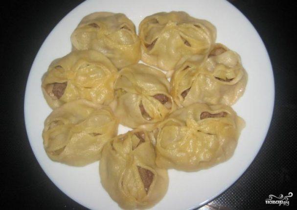 Манты по-татарски