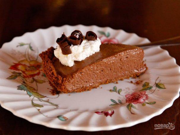 Кофейный пудинг-пирог
