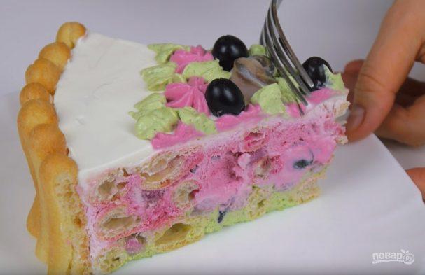 Закусочный торт «Дамские пальчики»
