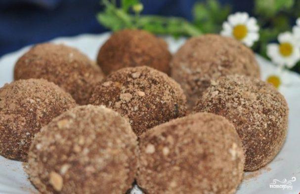 пирожное картошка из печенья со сгущенкой рецепт с фото