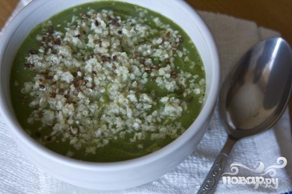 Вегетарианский суп из брокколи