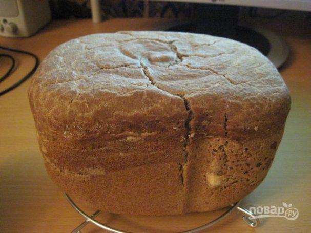 Бездрожжевой хлеб в хлебопечке (простой рецепт)