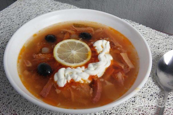 суп солянка рецепт приготовления простой рецепт