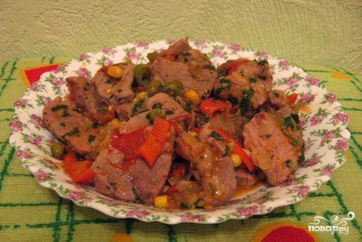 Мясо по-мексикански