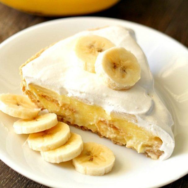 Банановый пирог простой