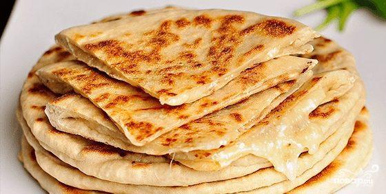 хачапури с сыром на кефире рецепт с фото
