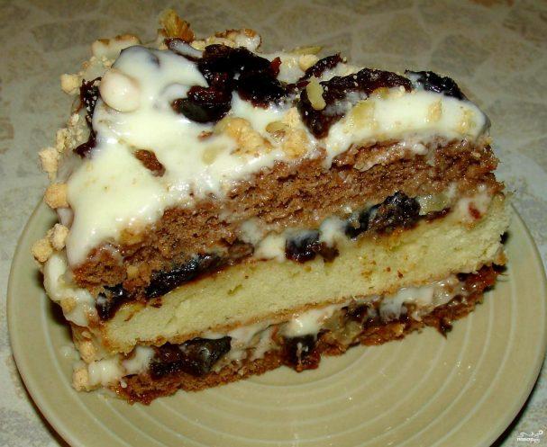 повар ру рецепты с фото шоколадный торт с черносливом