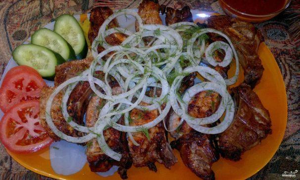 Шашлык из телятины по-армянски