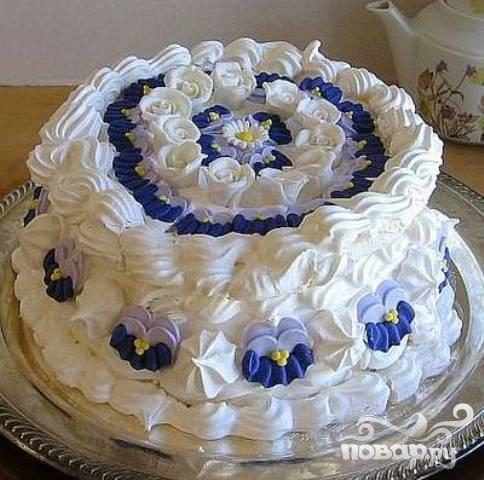 Испанский воздушный торт