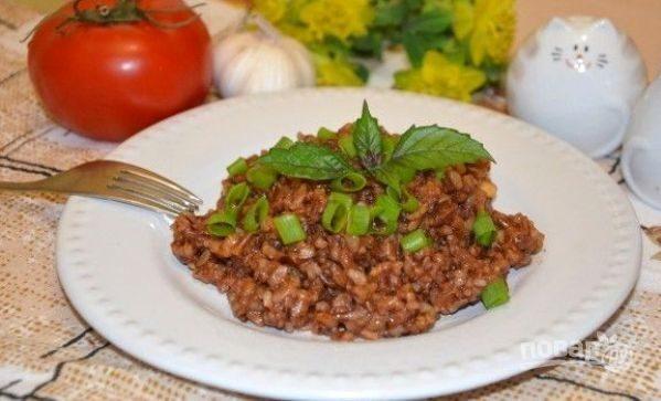 Бурый рис в духовке