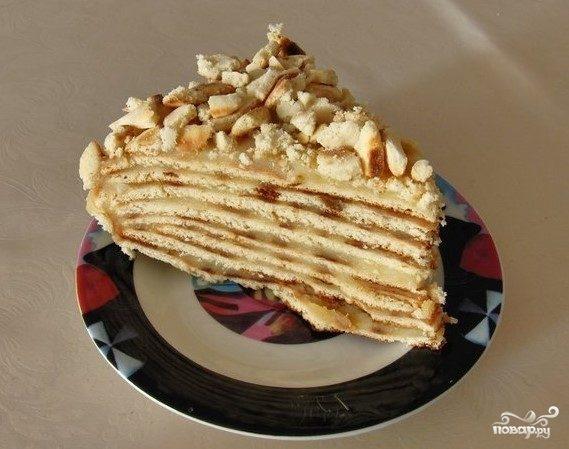 Торт-минутка в духовке