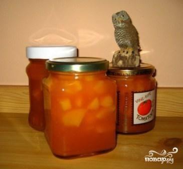 Варенье из персиков без сахара