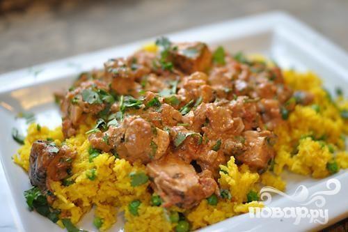 Курица в соусе Тикка Масала