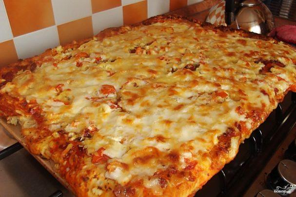 пицца своими руками в духовке рецепт с фото