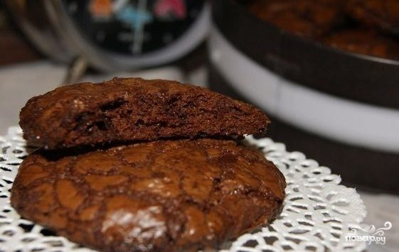 Самые шоколадные печенья