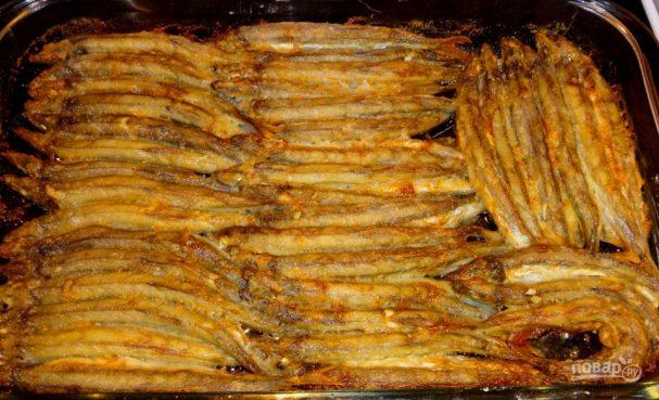 Блюда из мойвы в духовке