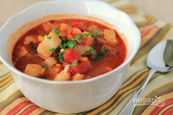 Рыбный суп простой