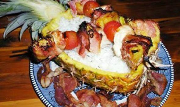 Полинезийский шашлык