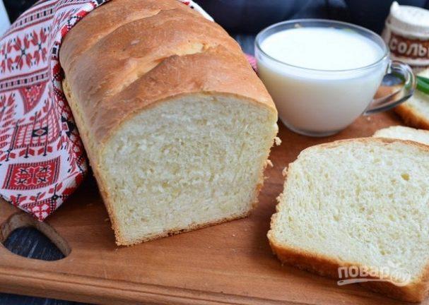 Кефирный хлеб в духовке